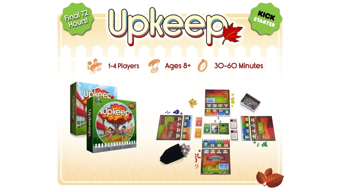 Upkeep Kickstarter Final 72 hours