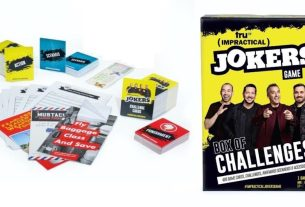 Impractical Jokers: Box of Challenges game