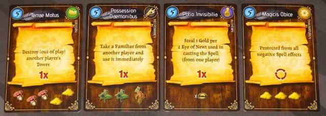 Lizard Wizard spells that affect other players