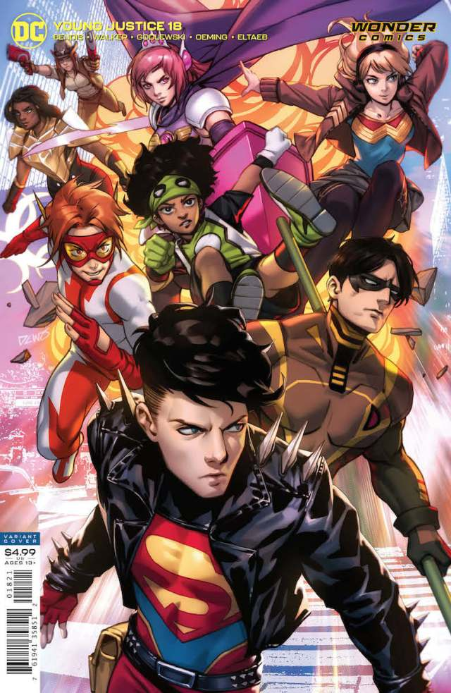 Review - Young Justice #18: Sins of the Father - GeekDad