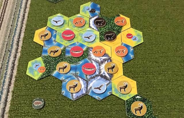 Cascadia finished map