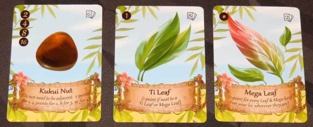Lucky Luau Kukui nut and leaves