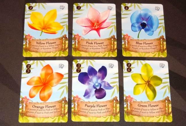 Lucky Luau flower cards