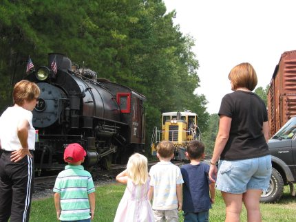Are You the Parent of a Train Geek? Throw a Birthday Party at a Tourist Railroad!