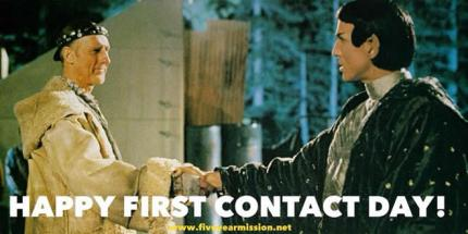 Happy First Contact Day