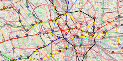 """Live"" Maps of UK Railways to Aid Your Procrastination"