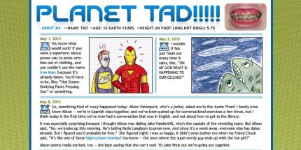 GeekDad Exclusive! Preview of Planet Tad From MAD Magazine