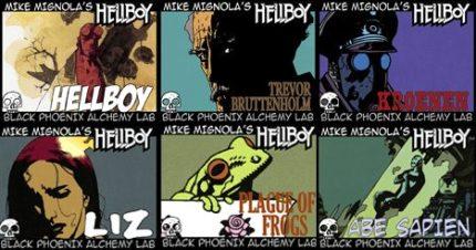 Black Phoenix Alchemy Lab: The Magic of Hellboy