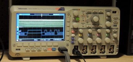 GeekDad Approved: Tektronix MSO2000B Series Oscilloscope