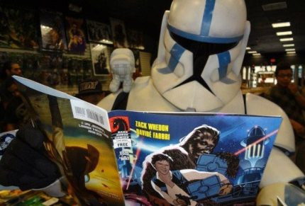 May the 4th Be With You on Free Comic Book Day