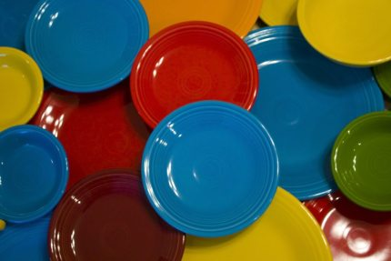 Writing Stories With Dinnerware: Fiesta, Friends, and Family