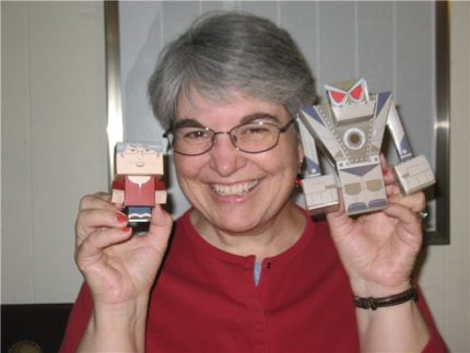 See the 4-inch GeekMoms! Win a Foldable Me Figure!