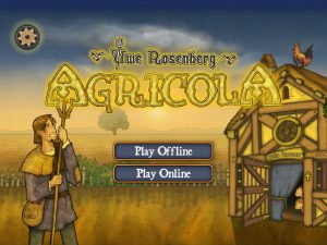 Agricola Title Screen