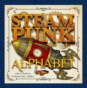 Steampunk Alphabet Cover