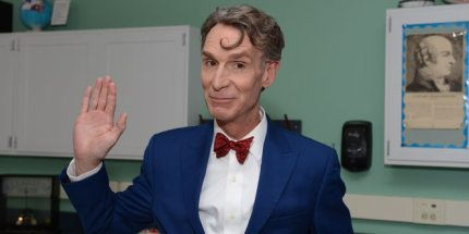 Bill Nye on Superman, Shaving, and His Own Turn as a Superhero
