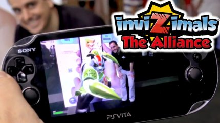 Invizimals Comes to Vita, PS3, iOS, Android and Panini