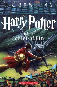 Harry Potter and the Goblet of Fire cover by Kazu Kibuishi
