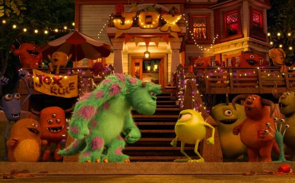 When Mike Met Sulley: Monsters University