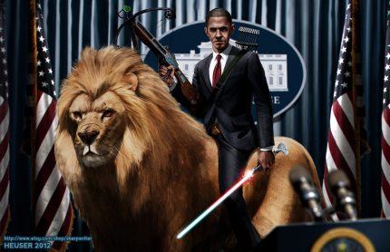 Absurdly Epic Presidential Artwork
