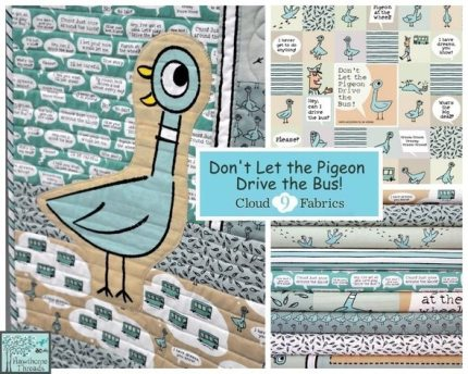 Cloud9 Fabrics and Mo Willems Join Forces!