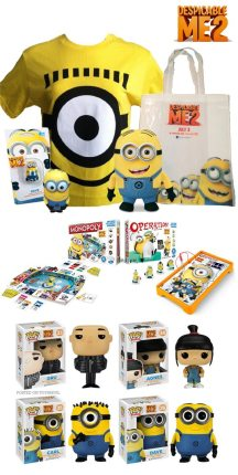Win a Despicable Me 2 Prize Package!