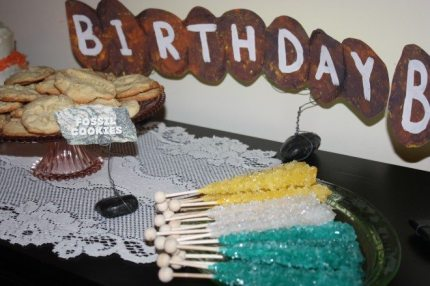 A Geological Birthday Party