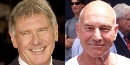 Happy Birthday to Harrison Ford and Patrick Stewart!