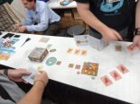 We try a game of Walk the Plank from Mayday Games. Shove all your opponents off the plank to win!