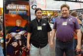 Luther Hendrix and Kevin Nunn, designers of Sentinel Tactics (along with Christopher Badell of Greater Than Games).