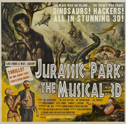 Fund This: Jurassic Park The Musical – in 3D!