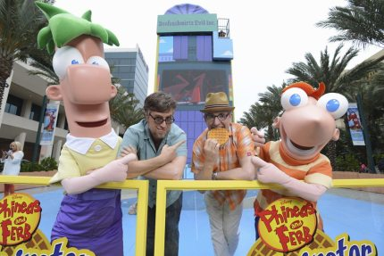 Phineas and Ferb's Creators on Marvel, Dressing Like Stan Lee and More