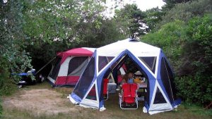 A tent is more affordable than a house.