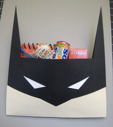 Batman Back to School Craft