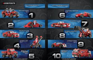 The ten models