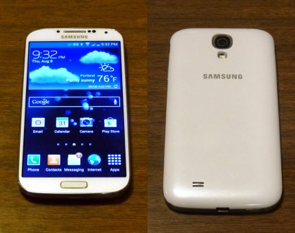 Hands-on Look at the Samsung Galaxy S4
