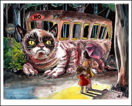 Grumpy Catbus is Out of Service