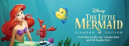 The Little Mermaid Diamond Edition, Beautifully Restored, Fantastic Bonus Features!