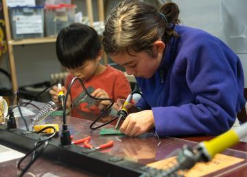 Hacker Scouts: Encouraging Kids to Hack!