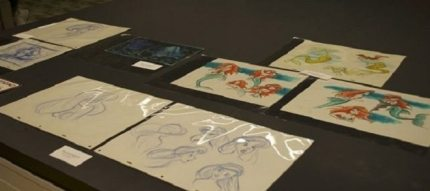 A Look At Disney's Animation Research Library And The Little Mermaid