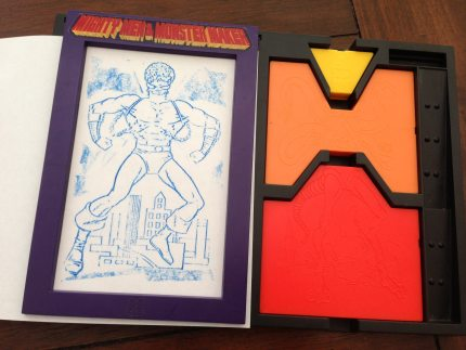 GeekDad Retro Toy: Mighty Men & Monster Maker