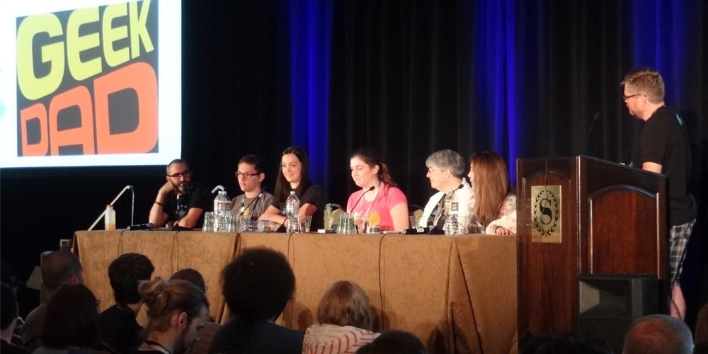 PAX Geek Parenting Panel Covers a Lot of Ground