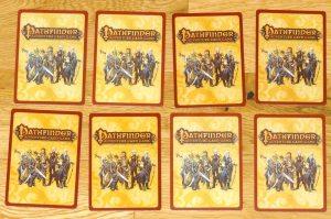 Pathfinder card backs