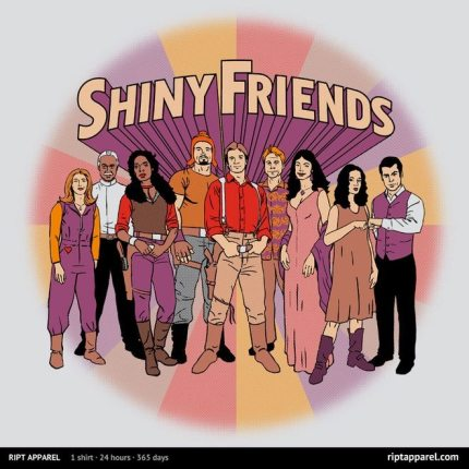 T-shirt Alert: Shiny Friends
