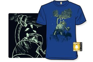 Glow in the Dark Robot T-Shirt