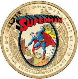 Superman in 14-Kt. Gold