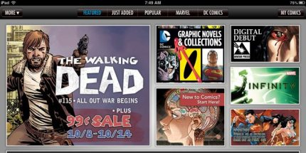 ComiXology: The Changing Face of Comic Book Readers