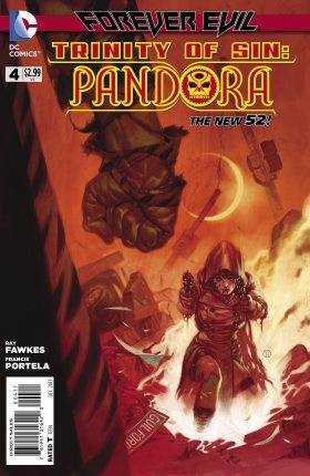 Exclusive Preview: DC's Trinity of Sin: Pandora  #4