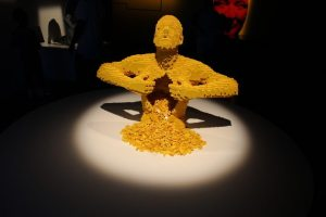 Sculpture in Yellow LEGO