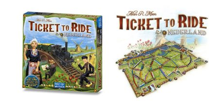 Orange Trains Lead the Way as Ticket to Ride Expands to the Netherlands