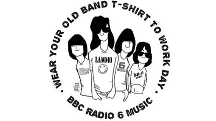 """Tomorrow Is """"Wear Your Old Band T-shirt to Work"""" Day #tshirtday"""